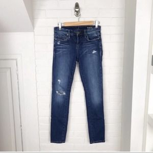 {Blank NYC} Skinny Classic Distressed Jeans